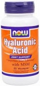 Now Foods Hyaluronic Acid with MSM 60 Veggie Caps