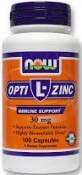 Now Foods L-OptiZinc 100 Capsules