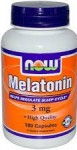 Now Foods Melatonin 3 mg 180 Capsules