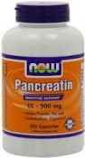 Now Foods Pancreatin High Potency 250 Capsules