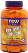 Now Sports Pyruvate 1000 mg 180 Tablets