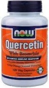 Now Foods Quercetin with Bromelain 120 Veggie Caps