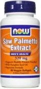 Now Foods Saw Palmetto Extract 90 Veggie Softgels