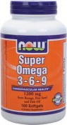 Now Foods Super Omega 3-6-9 180 Softgels