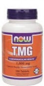 Now Foods TMG 100 Tablets