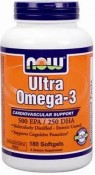Now Foods Ultra Omega-3 180 Softgels
