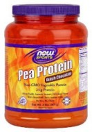 Now Sports Pea Protein Natural Unflavored 2 lbs (907 g)