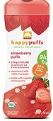 Nurture Happy Baby Happypuffs Organic Superfoods Strawberry Puffs 2.1 oz (60 g)