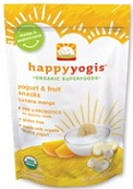 Nurture Happy Baby Happyyogis Yogurt & Fruit Snacks Banana Mango 1 oz (28 g)