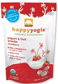 Nurture Happy Baby Happyyogis Yogurt & Fruit Snacks Strawberry 1 oz (28 g)