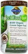 Garden of Life Perfect Food Raw Organic Green Super Food Chocolate Cacao 10 oz (285 g)