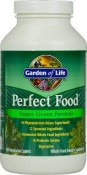Garden of Life Perfect Food Super Green Formula 300 Veggie Caplets