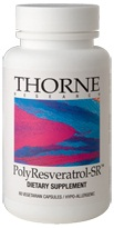 Thorne Research PolyResveratrol-SR Reviews