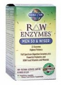 Garden of Life RAW Enzymes Men 50 & Wiser 90 vcaps