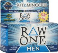 Garden of Life Raw One for Men 75 UltraZorbe Veggie Caps