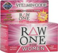 Garden of Life Raw One for Women 75 UltraZorbe Veggie Caps