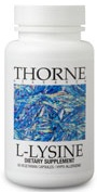 Thorne Research L-Lysine Reviews