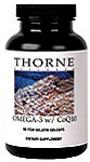 Thorne Research Omega-3 w/CoQ10 90 Fish Gelatin Gelcaps Reviews