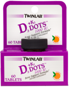 Twinlab D3 Plus K2 Dots 60 Tablets