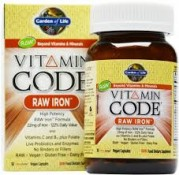 Garden of Life Vitamin Code Raw Iron 30 UltraZorbe Vegan Caps