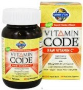 Garden of Life Vitamin Code Raw Vitamin C 60 UltraZorbe Vegan Caps