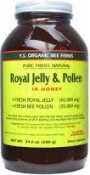 Y.S. Eco Bee Farms Royal Jelly & Pollen in Honey 24 oz (680 g)