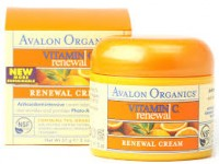 Avalon Organics Vitamin C Renewal Cream Cream 2 oz (57 g)