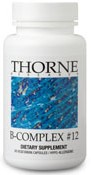 Thorne Research B-Complex #12 Reviews