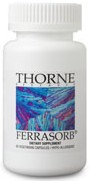 Thorne Research Ferrasorb Reviews