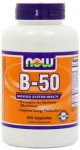 Now Foods B-50 250 Tablets