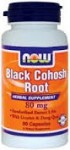 Now Foods Black Cohosh Root with Licorice and Dong Quai 80 mg 90 Capsules