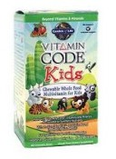 Garden of Life Vitamin Code Kids Multivitamin 60 Chewable Bears